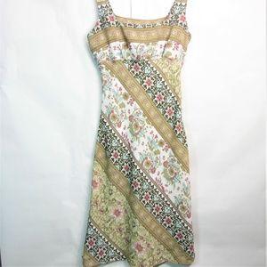 Mlle Gabrielle Long Summer Floral Dress Size 6
